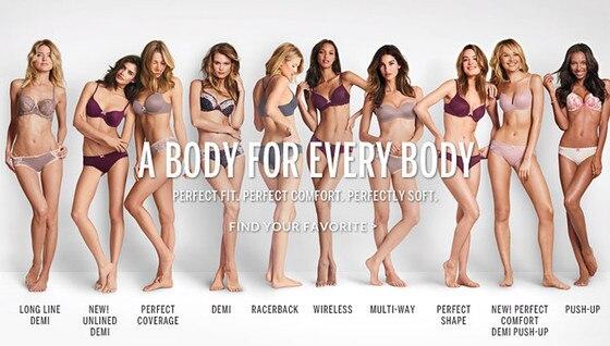 Victoria's Secret, Perfect Body Campaign