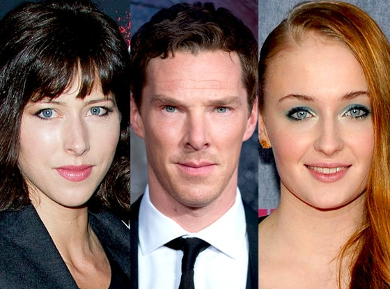 Sophie Turner,  Sophie Hunter, Benedict Cumberbatch