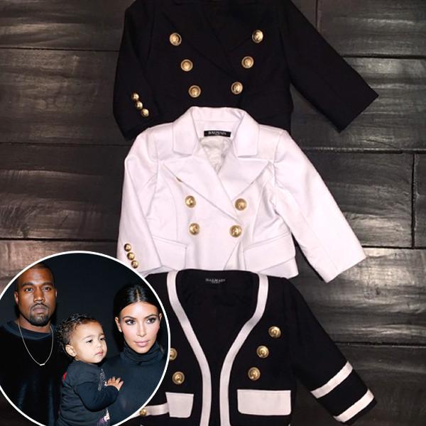 Kanye West, Kim Kardashian, North West