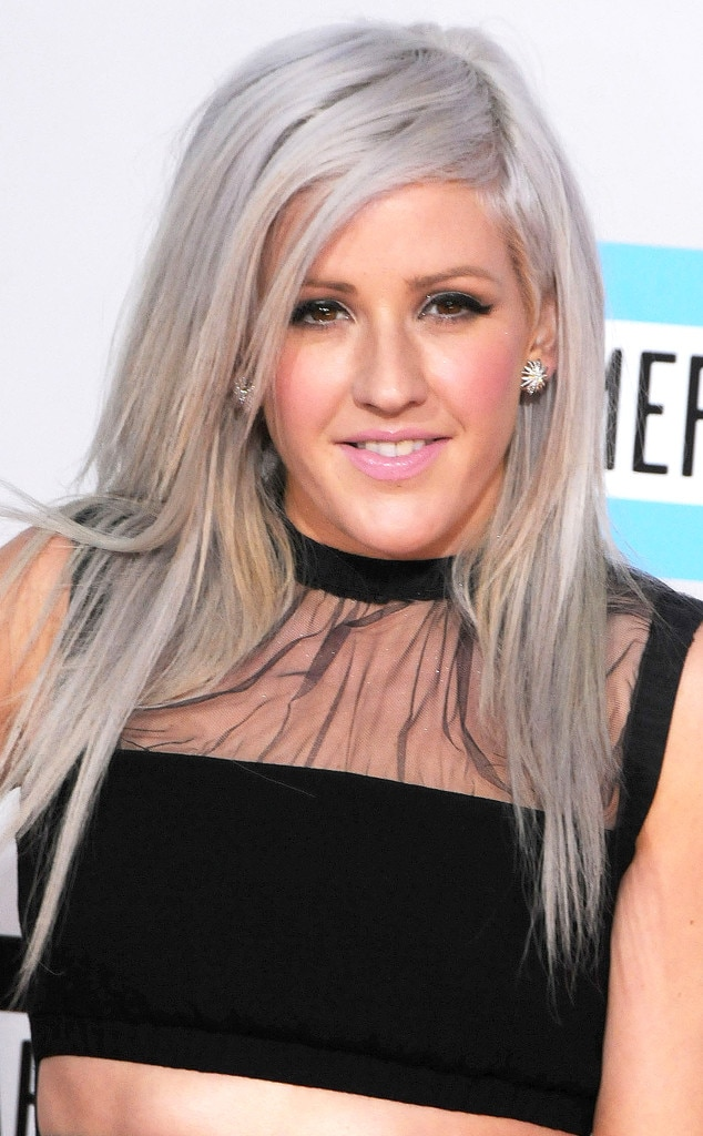 Ellie Goulding Natural Hair Colour