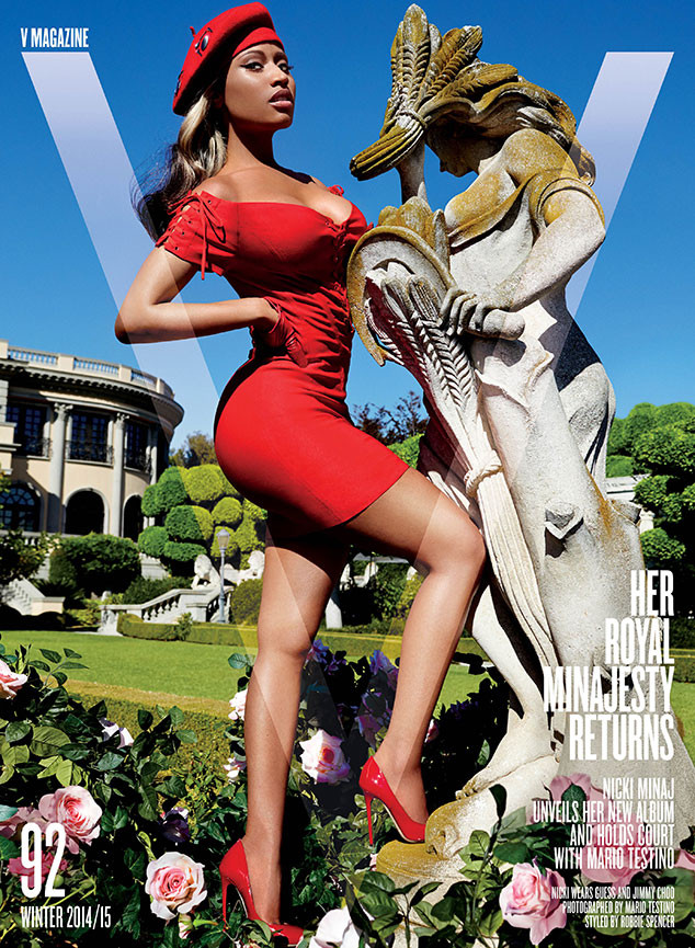 Nicki Minaj, V Magazine