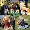 Julianne Hough, puppies