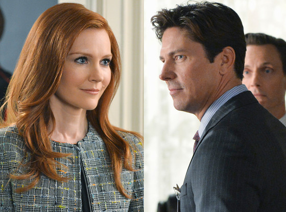 Darby Stanchfield, Michael Trucco, Scandal