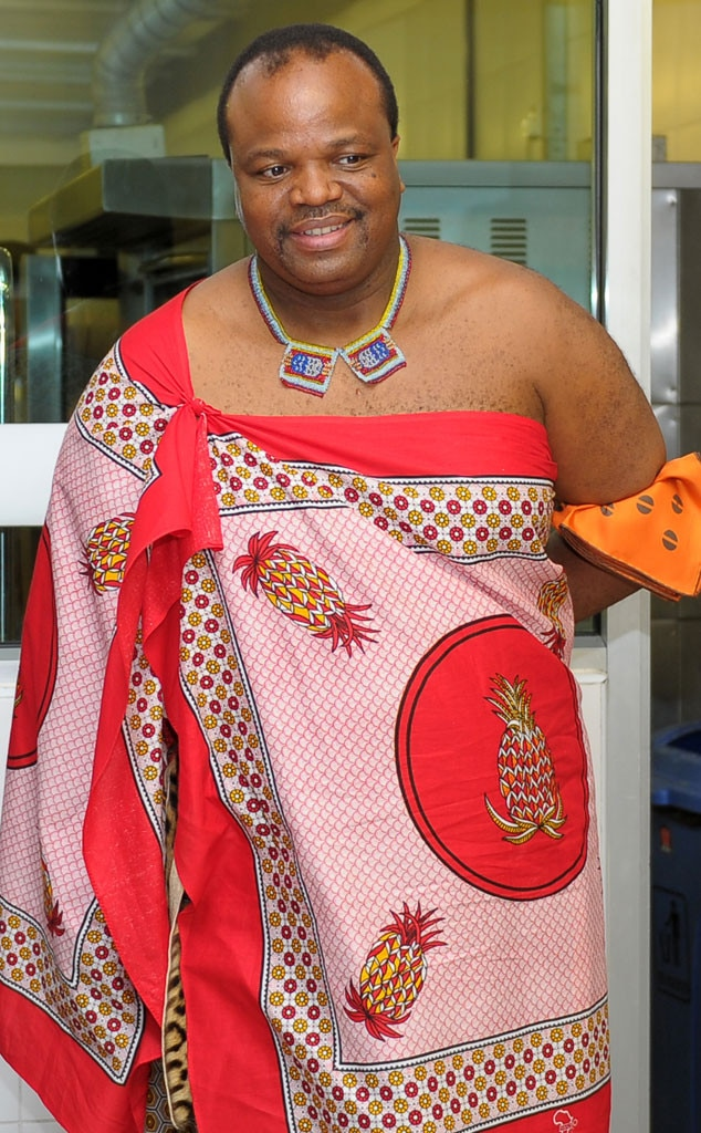 Royal Scandals, King Mswati III of Swaziland
