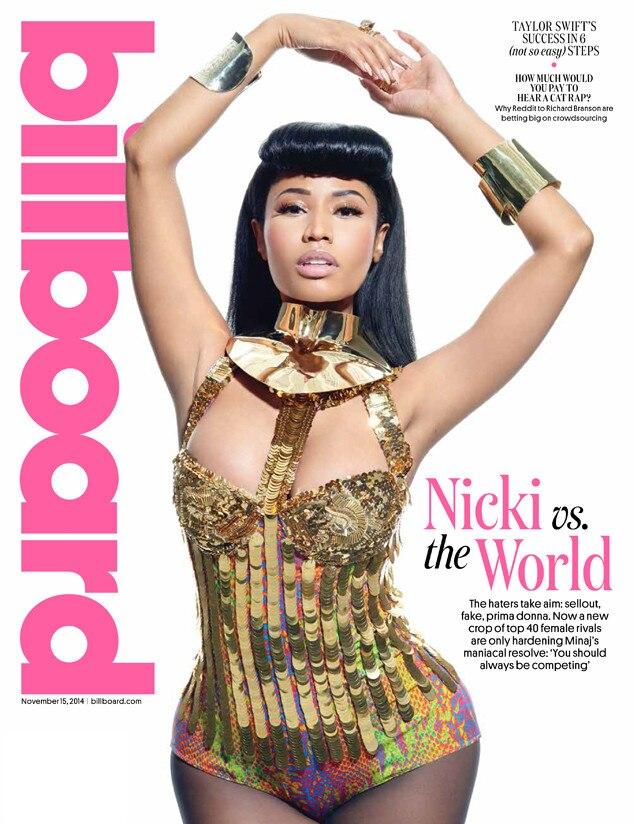 Nicki Minaj, Billboard