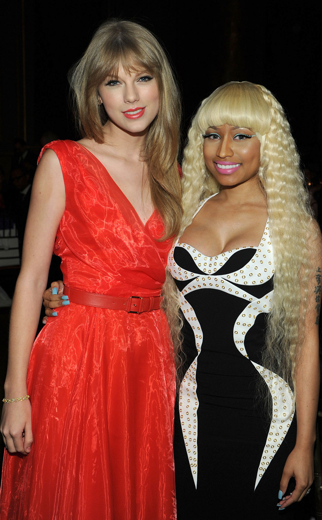 Taylor Swift, Nicki Minaj