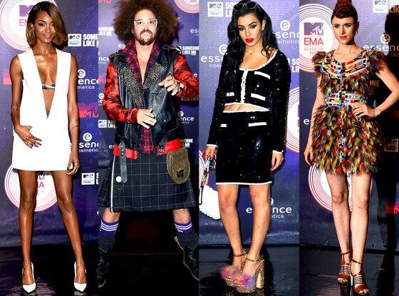 Worst Dressed, MTV EMA's 2014