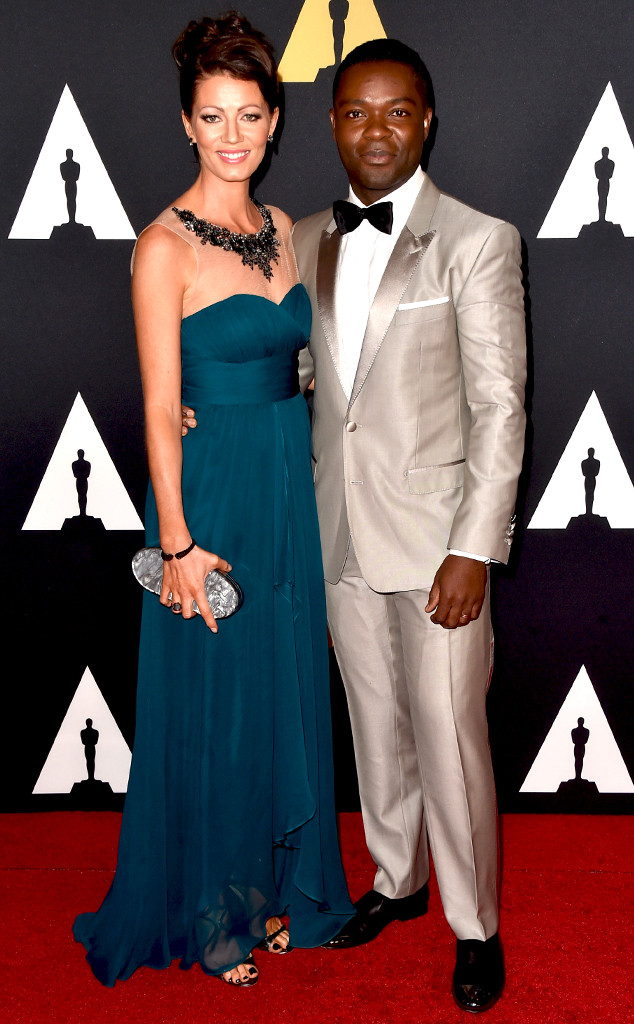 David Oyelowo & Jessica Oyelowo from 2014 Governors Awards ...