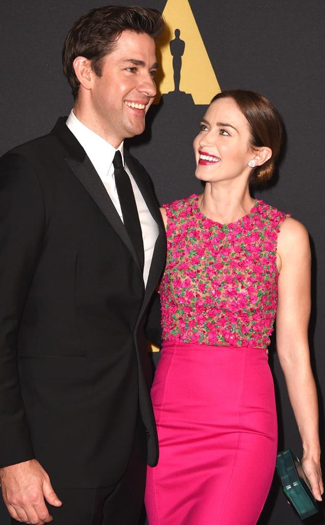 John Krasinski, Emily Blunt, Governors Awards