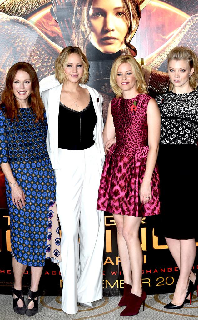 Julianne Moore, Jennifer Lawrence, Elizabeth Banks, Natalie Dormer
