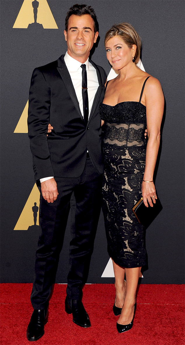 Justin Theroux, Jennifer Aniston, Governors Awards