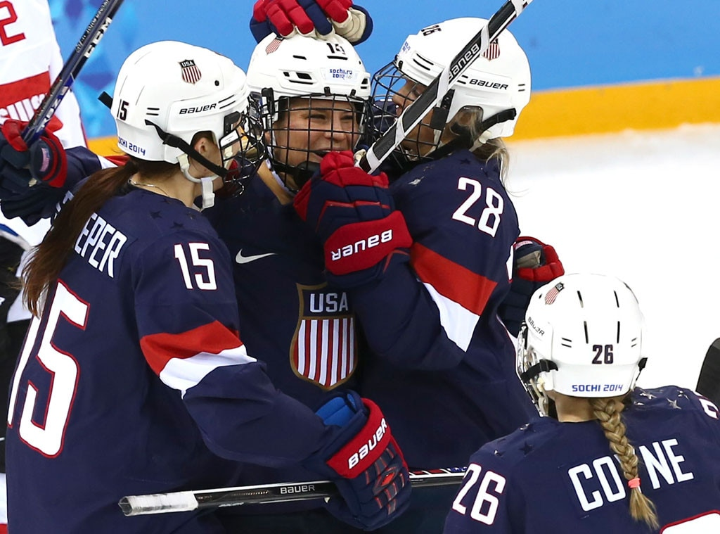 USA Women's Ice Hockey, Olympics