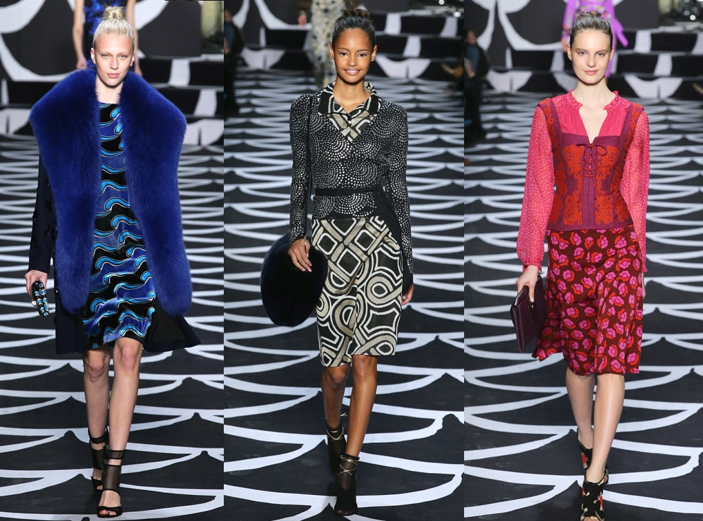 Diane Von Furstenberg, New York Fashion Week