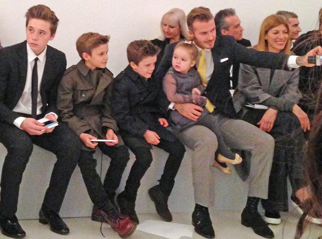 David Beckham, Family, Harper