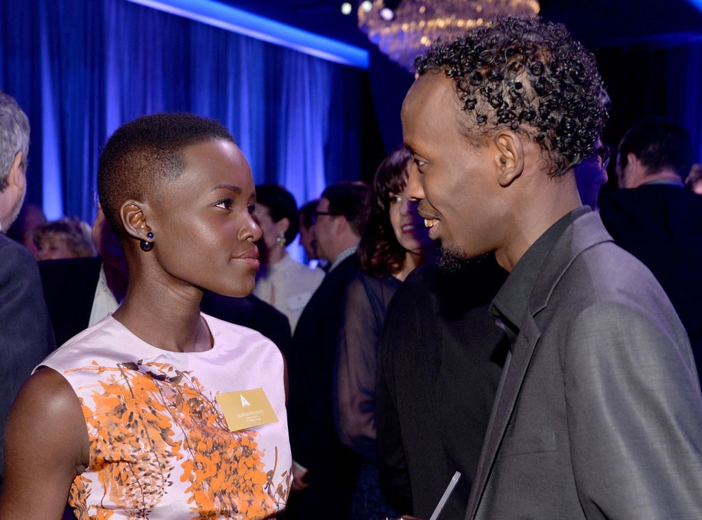 Lupita Nyong'o, Barkhad Abdi, Oscar Nominee Luncheon