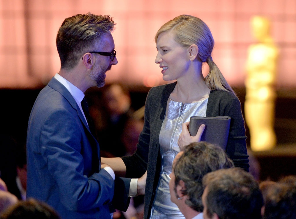 Michael Wilkinson, Cate Blanchett, Oscar Nominee Luncheon