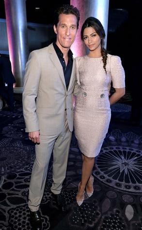 Matthew McConaughey, Camila Alves, Oscar Nominee Luncheon