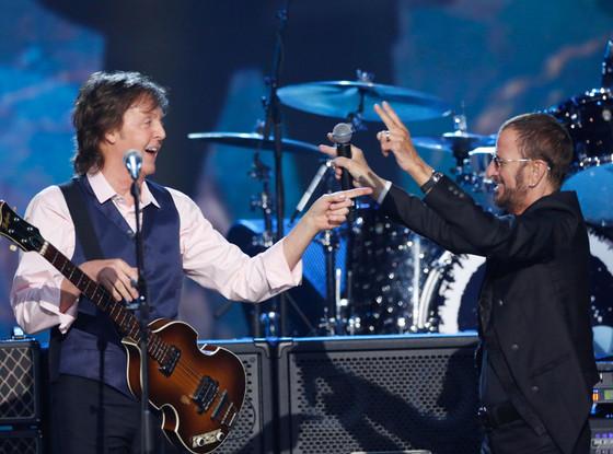 Paul McCartney, Ringo Starr, The Beatles
