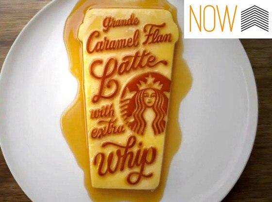Starbucks, Caramel Flan Latte, Now