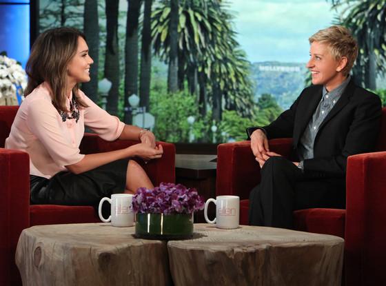 Jessica Alba, Ellen Degeneres Show