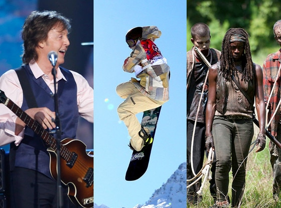 Beatles, Olympics, Walking Dead