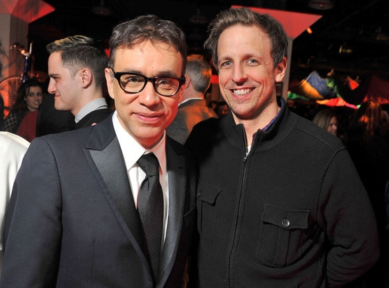 Fred Armisen, Seth Meyers