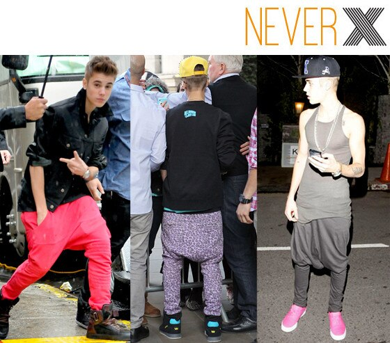 Justin Bieber, Never