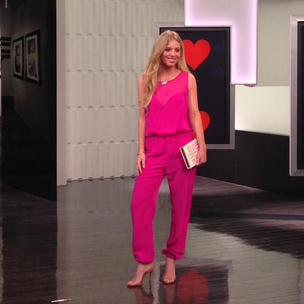 E! News Fashion Segment 2/10/14