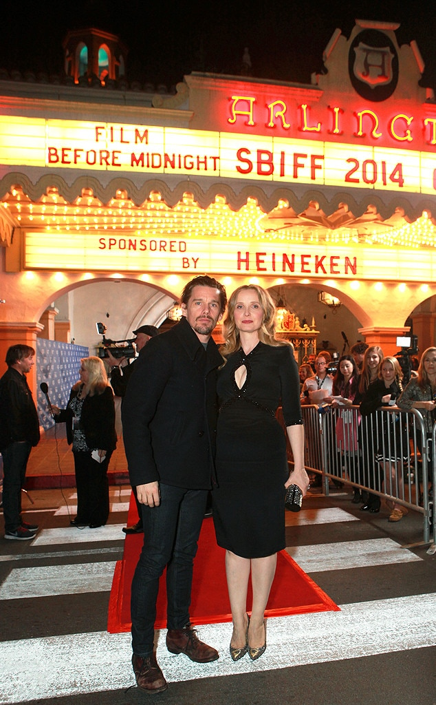 Ethan Hawke, Julie Delpy, The Santa Barbara International Film Festival