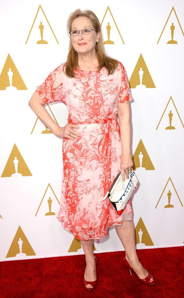 Meryl Streep, Oscars Nominees Luncheon