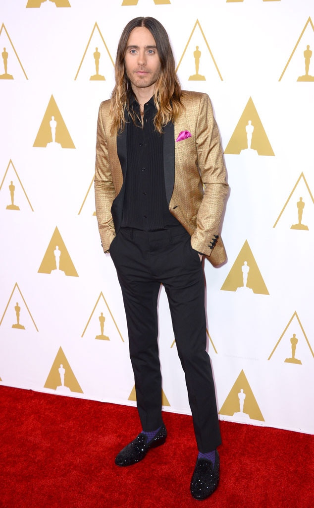 Jared Leto, Oscars Nominees Luncheon