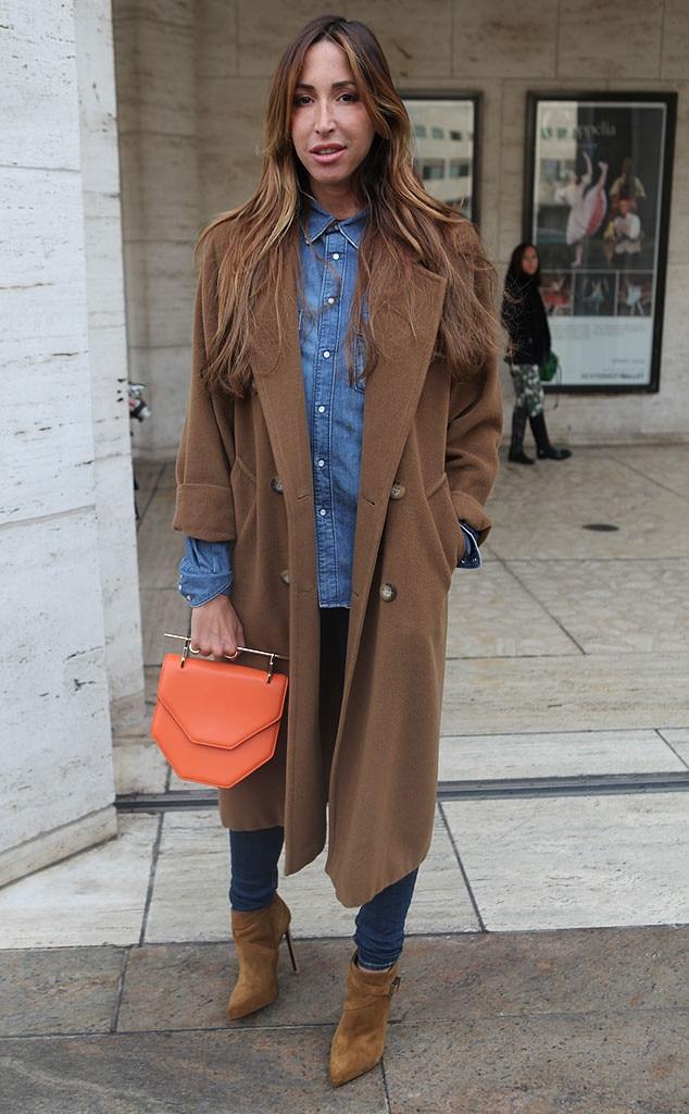Ronny Kobo From New York Fashion Week Fall 2014 Street Style E News