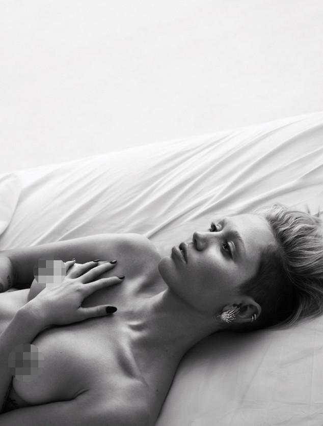 Miley Cyrus, W Magazine