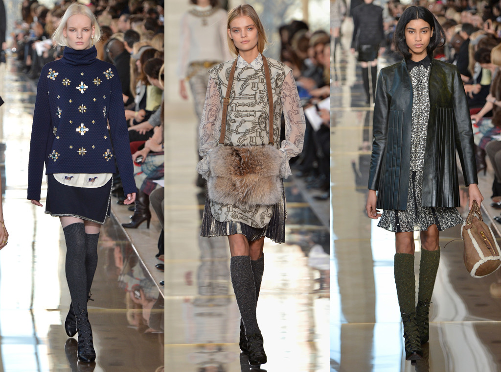 Tory burch from best shows of new york fashion week fall for Fashion exhibitions new york