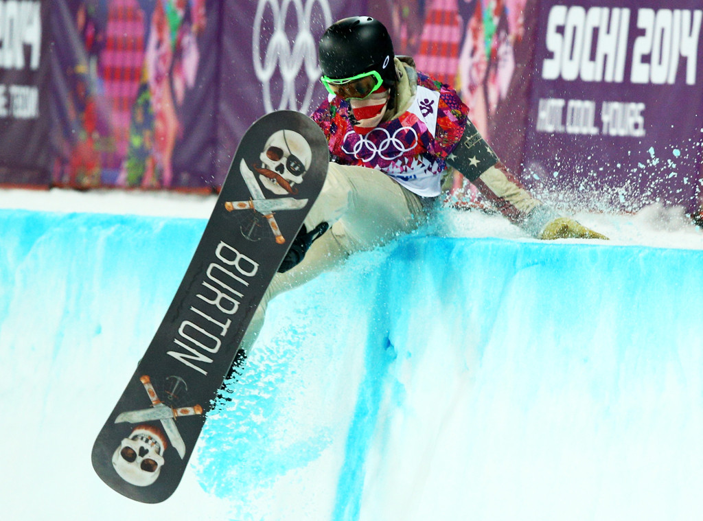 Shaun White, Sochi Winter Olympics, Fall