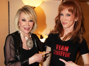Joan Rivers, Kathy Griffin