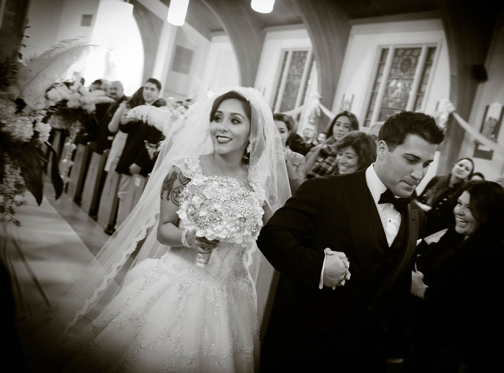 Nicole Polizzi, Jionni LaValle, Wedding