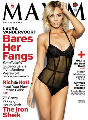 Maxim, Laura Vandervoort