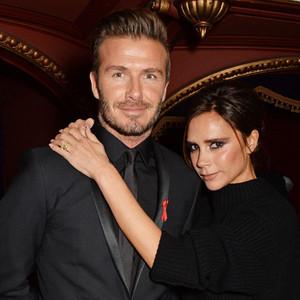 David Beckham, Victoria Beckham, British Fashion Awards 2014