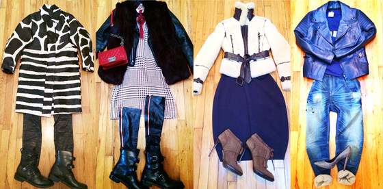 Zanna Roberts Rassi, NYFW Diary, Outfits