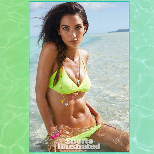 Lily Aldridge, Sports Illustrated Swimsuit 2014