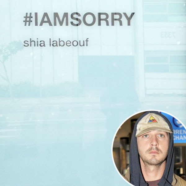 Shia LaBeouf, #IAMSORRY
