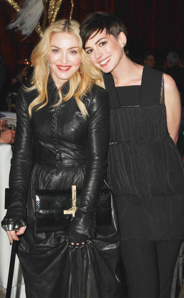 Madonna, Anne Hathaway