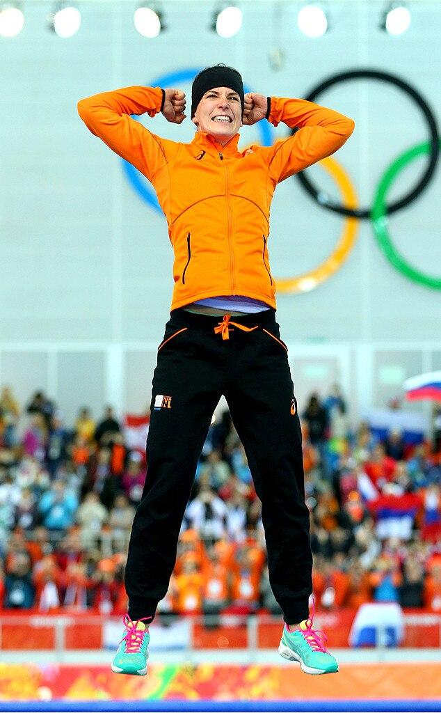 Irene Wust, Gold Medal, Olmypics, Sochi