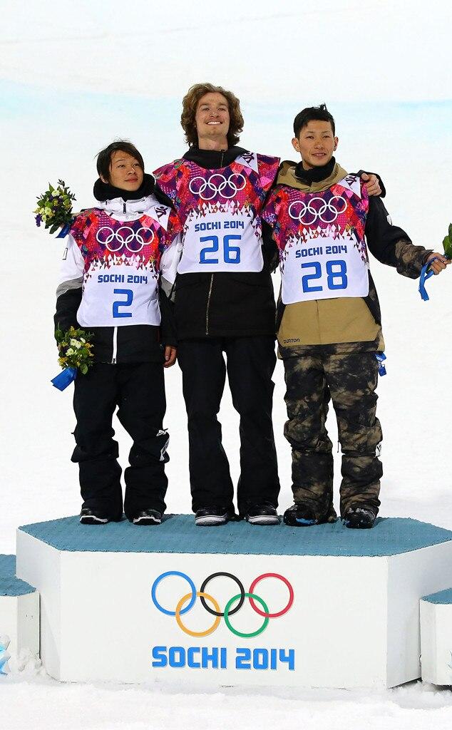 Ayumu Hirano, Iouri Podladtchikov, Taku Hiraoka, Sochi Winter Olympics