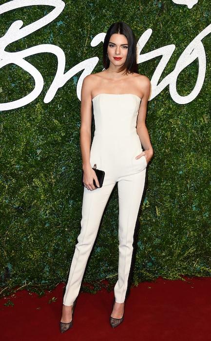 Kendall Jenner, British Fashion Awards 2014