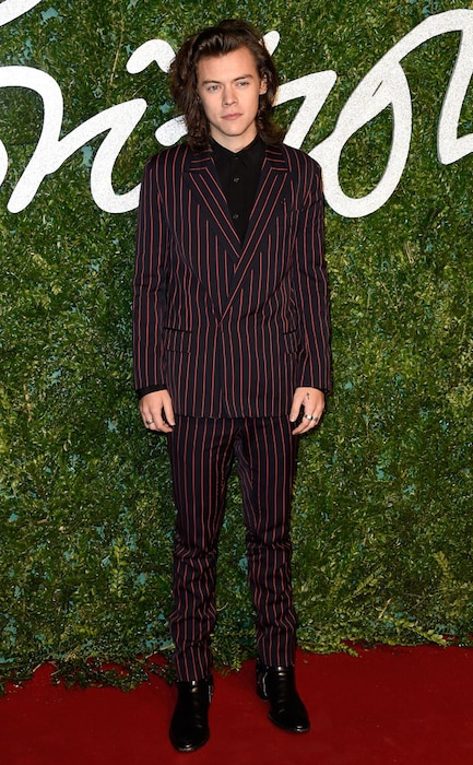 Harry Styles, British Fashion Awards 2014