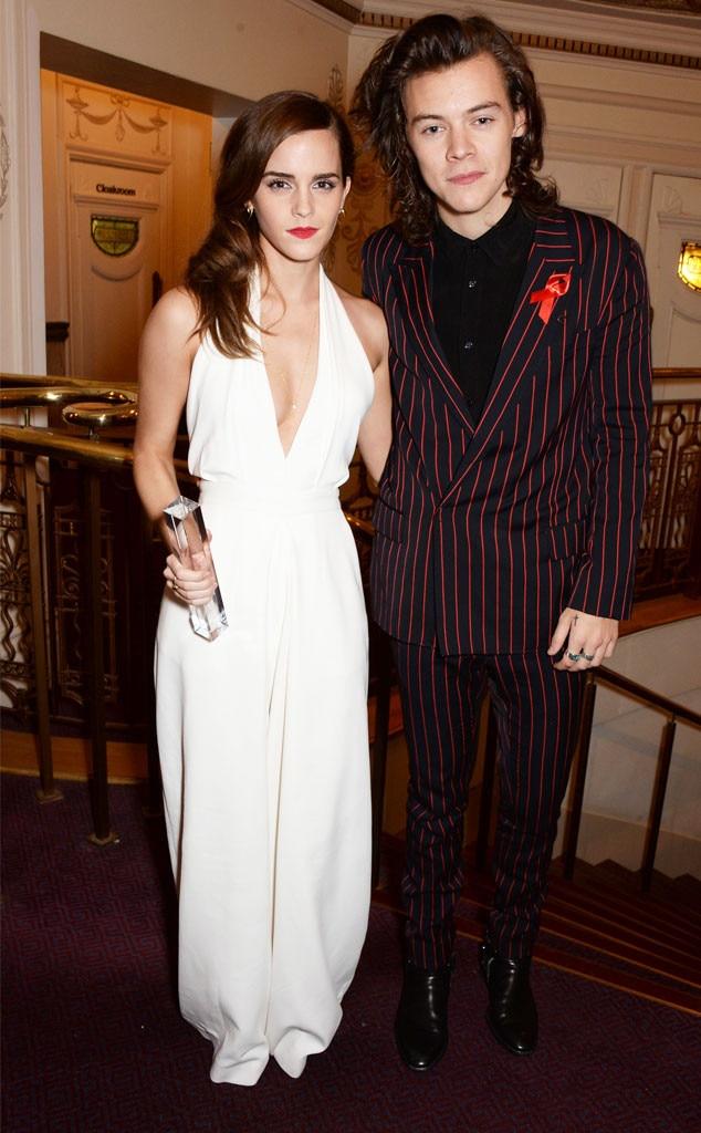 Emma Watson, Harry Styles, British Fashion Awards 2014