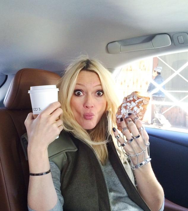 Zanna Roberts Rassi, NYFW Diary, Breakfast in Car
