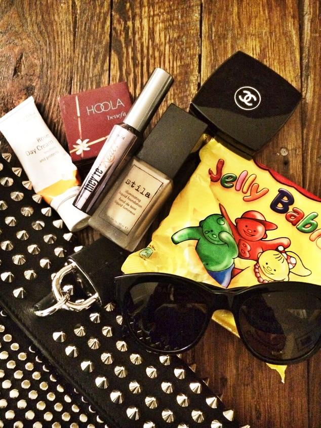Zanna Roberts Rassi, NYFW Diary, Inside Bag